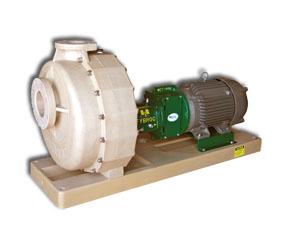 Самовсасывающие насосы Fybroc Series 1600 для электроэнергетики и проч.